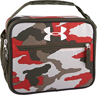 Under Armour Scrimmage Lunch Box, Bandit Martian Red