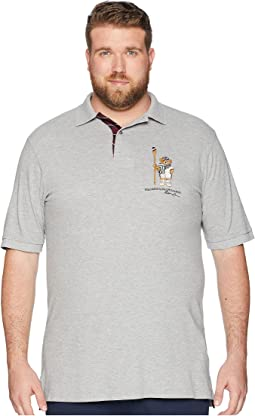 Big & Tall Bear Player Polo Shirt