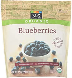 365 Everyday Value, Organic Blueberries, 32 oz, (Frozen)