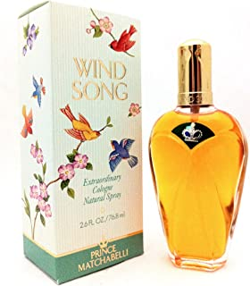 WIND SONG by Prince Matchabelli COLOGNE SPRAY NATURAL 2.6 OZ for WOMEN