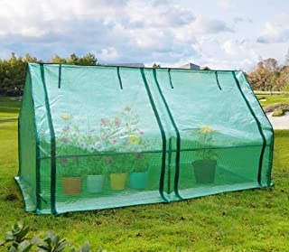 Quictent Portable Greenhouse Large Green Garden Hot House Grow Tent More Size (71