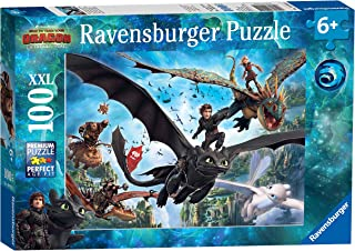 Ravensburger How to Train Your Dragon 3, XXL 100pc Jigsaw Puzzle
