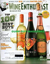Wine Enthusiast November 2010 Magazine WINES FOR $15 OR LESS RATED 90 + Top 100 Best Buys 2010