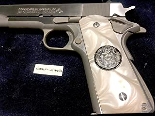 MADE IN U.S.A. 1911 GRIPS SALE $43.73 EXOTIC BURLED COCOBOLO,SNAKESKIN PATTERN CHECKERING,DOUBLE DIAMONDS,FITS RUGER,COLT,TAURUS,SIG,SPRINGFIELD,PARA,REMINGTON,CLONES