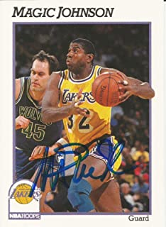 Best magic johnson signed card Reviews