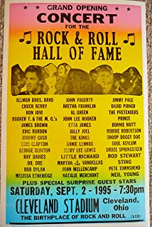 Grand Opening Concert for the Rock & Roll Hall of Fame w/ Allman Bros, Dr. Dre, Jimmy Page & Many More!