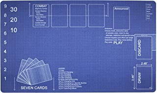 Blueprint Playmat by Inked Gaming / Perfect for MTG Gaming. MTG Playmat. Your Game. Your Style.