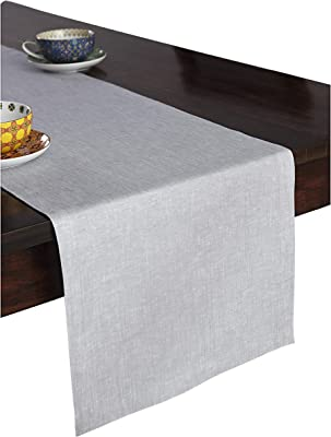 d5dccbed32ca0 Amazon.com: Solino Home Medium Weight Linen Table Runner - 100% Pure ...