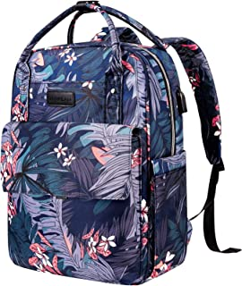 VANKEAN Laptop Backpack 15.6 Inch Stylish Backpack with USB Port, Backpack for Women and Men Water-repellent Back Pack Col...