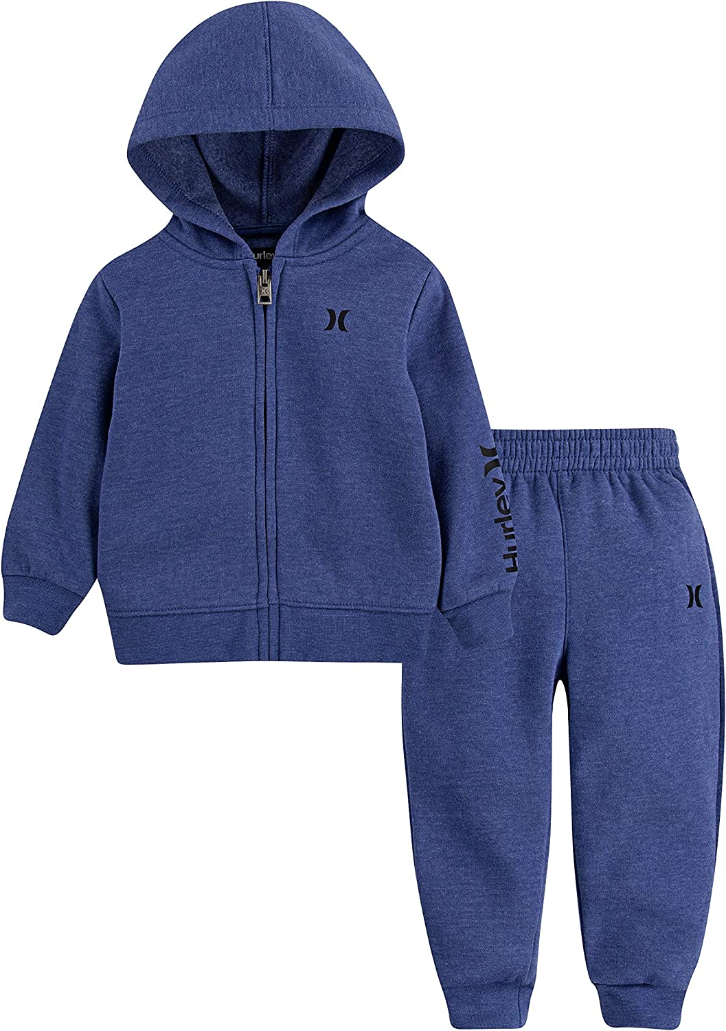 Hurley Baby Boys Hoodie and Joggers 2-Piece Outfit Set