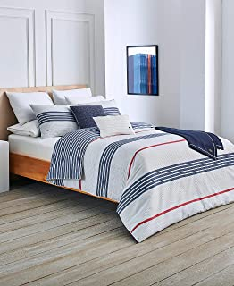 Lacoste Milady Duvet Set, King, Blue