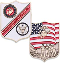 Marine Corps Security Guard Challenge Coin - MSG USMC Military Coin - Designed by Marines for Marines - Officially Licensed Product