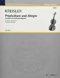 Praeludium and Allegro: in Style of Gaetano Pugnani