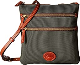 Dooney & Bourke - Nylon North/South Triple Zip