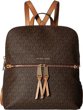a501054bd347 MICHAEL Michael Kors Rhea Zip Medium Slim Backpack at Zappos.com