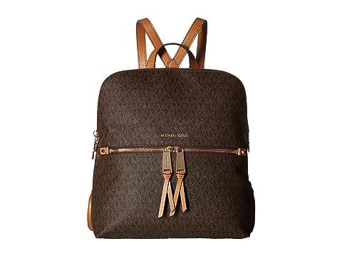 ac6e2a4909be MICHAEL Michael Kors Rhea Zip Medium Slim Backpack at Zappos.com
