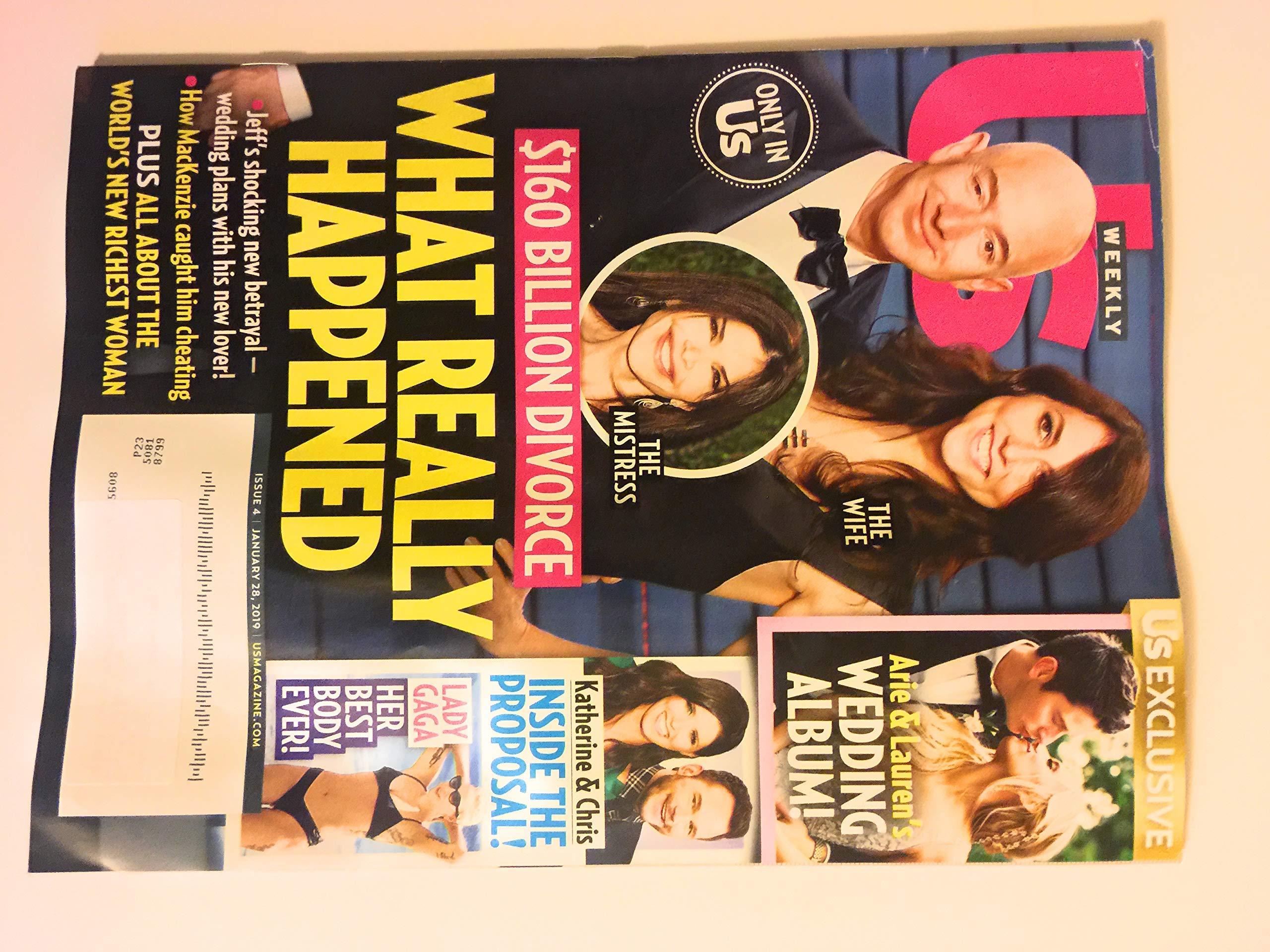 US Weekly Magazine January 28, 2019   Jeff Bezos $160 Billion Divorce