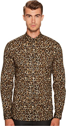 Just Cavalli - Cheetah Button Down