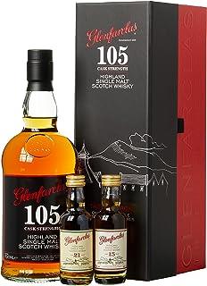 Glenfarclas 105 Cask Strength Tasting Pack Whisky mit Geschenkverpackung 1 x 0.8 l