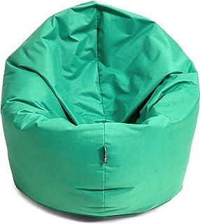 comprar comparacion BuBiBag - Puf tamaño L - XXL, 2 en 1, con relleno y forma de lágrima, pacific, 125 cm Durchmesser
