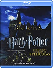 HARRY POTTER Colección Completa de 8 Películas (Blu-ray) - English & Spanish Audio with English, Spanish, French & Portuguese Subtitles - IMPORT