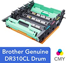 Brother Genuine Drum Unit, DR310CL, Seamless Integration, Yields Up to 25,000 Pages, ,Black