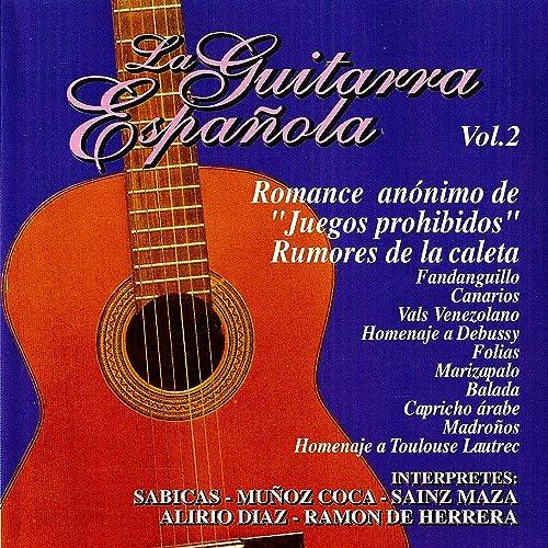 La Guitarra Española Vol.2 de Various artists en Amazon Music ...