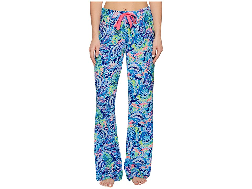 Lilly Pulitzer Knit Pajama Pants (Multi Ocean Commotion) Women