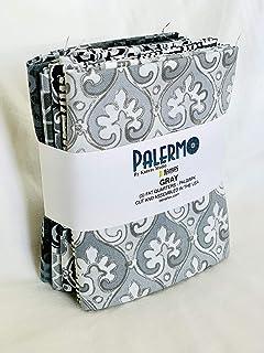 Benartex Palermo Gray 5pc Fat Quarter Bundle