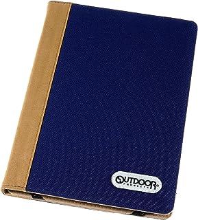 【Amazon.co.jp 限定】OUTDOOR PRODUCTS(アウトドアプロダクツ) タブレットケース03 ネイビー AMZODTBC03NV 汎用タブレットケースブックタイプ バインダータイプ iPad ケース 10.2~11インチ用