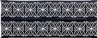 Camco Charcoal Botanical 42833 Awning Leisure Mat 8' x 20'
