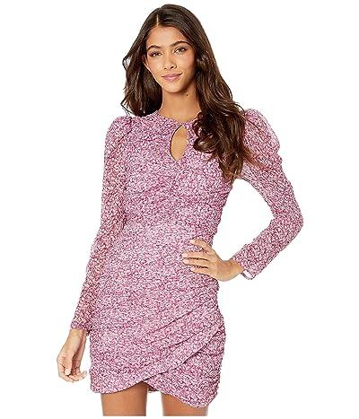 Bardot Charlotte Floral Dress (Pink Haze) Women