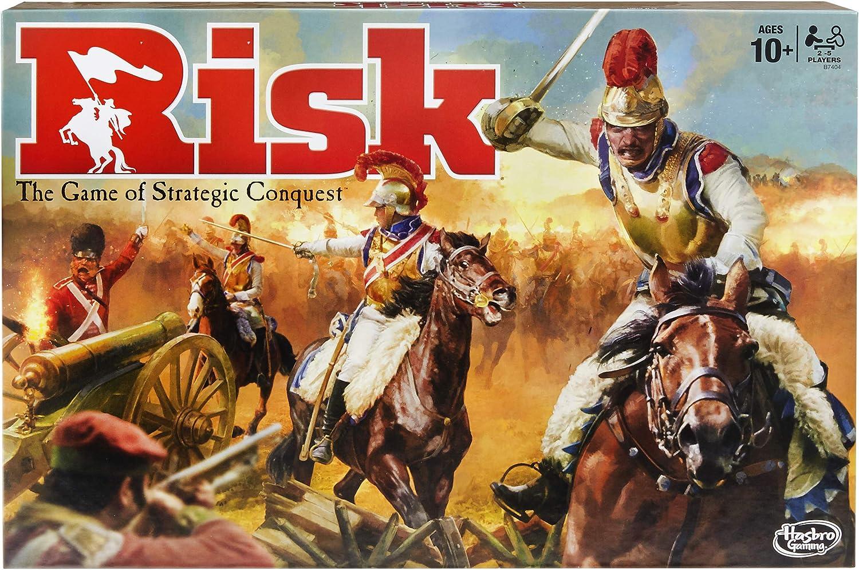 Risk game. Click to view description.