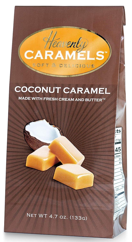J Morgan Confections Heavenly Caramel oz Limited time cheap sale 4.7 Coconut Flavor Popular product