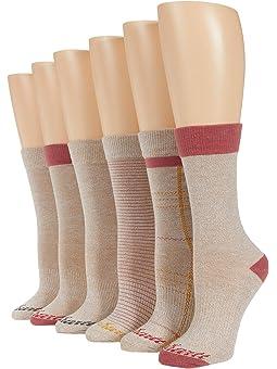 Carhartt All Season Crew Socks 6-Pack