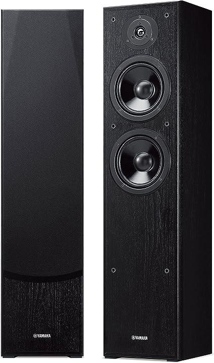 Yamaha ns-f51 coppia diffusori da pavimento bass-reflex a 2 vie, nero NSF51BL