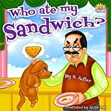 cartoon picture of a sandwich