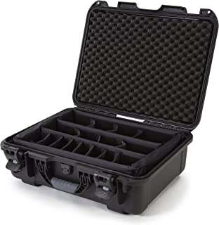 Nanuk 930 Waterproof Hard Case with Padded Dividers - Black - Made in Canada