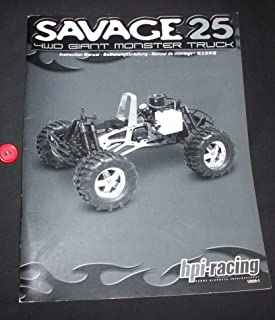 SAVAGE 25 4WD Giant Monster Truck Instruction Manual(R/C Model)