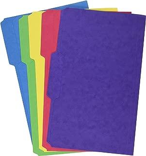 Staples Heavyweight Colored File Folders, 3 Tab, Legal, 50/Box
