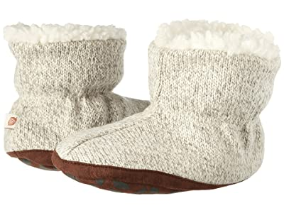 Acorn Kids Easy Bootie Ragg (Infant/Toddler) (Grey Ragg Wool) Kids Shoes