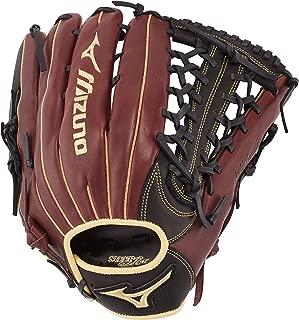 "Mizuno MVP Prime Outfield Baseball Glove 12.75"", Cereza Negra"