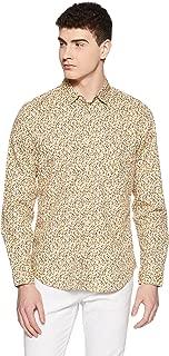 Indigo Nation Street Men's Printed Slim Fit Casual Shirt