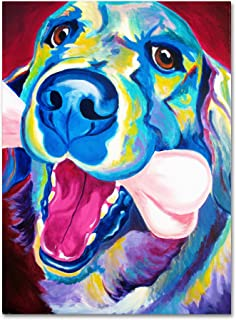 colorful dog art