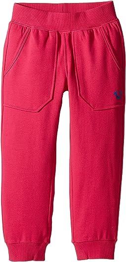 Branded Cropped Sweatpants (Big Kids)