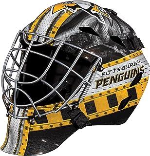 Franklin Sports Team Licensed NHL Hockey Goalie Face Mask - Goalie Mask for Kids Street Hockey - Youth NHL Team Street Hockey Masks