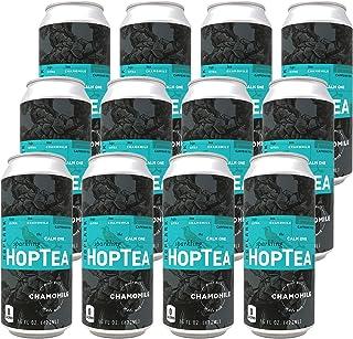 HOPLARK Sparkling HopTea - The Calm One (12 16oz Cans) - Craft Brewed Iced Tea - Organic, Gluten-Free, Non GMO, Zero Calor...