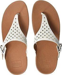 586edfb38532 FitFlop Women s Skinny Toe Post-Latticed Flip-Flop