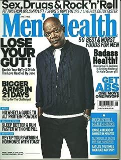 Mens Health Magazine June 2016 Samuel L. Jackson Cover