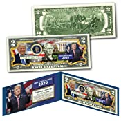 DONALD TRUMP Keep America Great 2020 Official Genuine Legal Tender U.S. $2 Bill